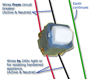 240v switch caravansplus traditional electrical installation guide wire diagram for 240 volt wall heater at bakdesigns.co