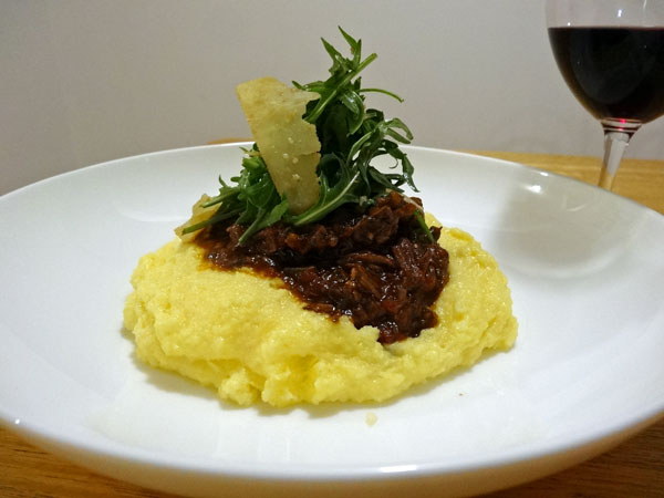 Tuscan Beef with Polenta - Ingredients