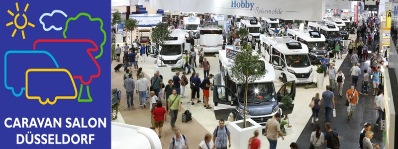 Caravan Salon Dusseldorf - Worlds Largest RV Trade Fair