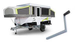 CaravansPlus: Guide to Camper Trailer Windup-Systems