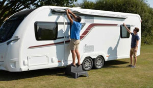 How To Fit A Roll Out Awning