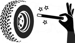 Emergency Extra Spare Wheel For Your Caravan - 1kg