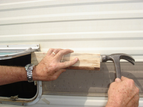 Step-by-Step Wind-Out Window Repair