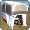 Camper Trailer Bed End Garages Suit Jayco Touring Onroad - 1400mm High