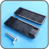 AS1625-KIT-B: Dometic 5 Piece Vent & Flue Kit - Suit Up To 100 Litres, Black