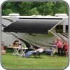 Dometic 8500 Awning 8ft - Onyx (Black) - Fabric On Roll (No Arms)