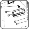 Divider for Door Shelf - Suit Waeco CR / CRX Fridges