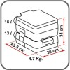Fiamma Bi-Pot 34 toilet Dimensions