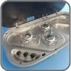 3 Burner Stove & Sink Combo