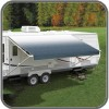 Carefree Fiesta Awning 14ft - Blue Shale Fade - Fabric On Roll (No Arms)