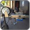 Ark XO Jockey Wheel - Stowed