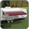 Carefree Fiesta awning 10ft (3.05m), Burgundy Fade
