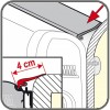 98655Z015: Fiamma Awning Rain Guard M Kit - 550cm Roll