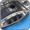 Thetford 353 - 3 Burner Stove & Sink Combo