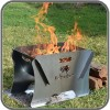 Portable Steel Firepit & Ember Tray Kit - Small 400 x 580mm