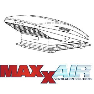Spare Parts Diagram - MaxxFan 7000KI / 7500KI Roof Vent