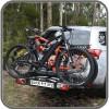 Coast Quick Fit bike rack installed
