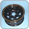 Sunraysia Wheel Rim, HT Holden, 14 inch x 6 inch, Black
