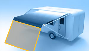 Show Side Screens Suit Rollout Awning