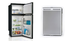 Show 12V/240V Upright Fridge