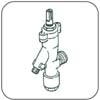 292221005: Safety Valve - Suit Chescold B533 (Finch) Fridges