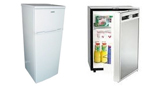 12V/240V Upright Fridge