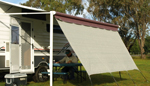 Side Screens Suit Rollout Awning