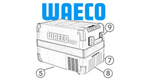 Show Waeco Chest Fridge Parts (CF)