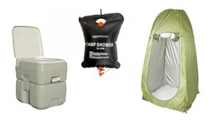 Show Camp Toilet & Shower