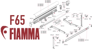 Show Fiamma F65 Awning Diagrams
