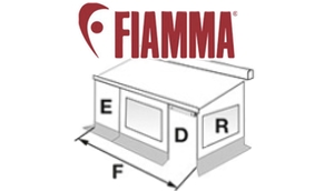 Show Fiamma Privacy Room Diagrams
