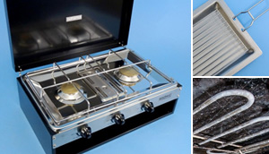 Show Stove with Griller