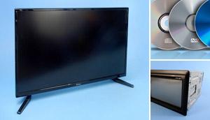 Show 12 Volt TVs, DVDs & Tuners