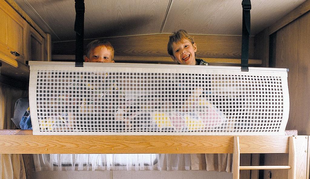 caravan bunk bed safety rail 2