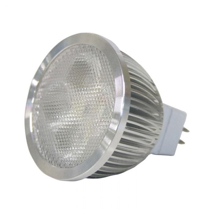Led Mr16 Bulb  320 Lumens  Cool White Leds  12v Dc  4 Watt