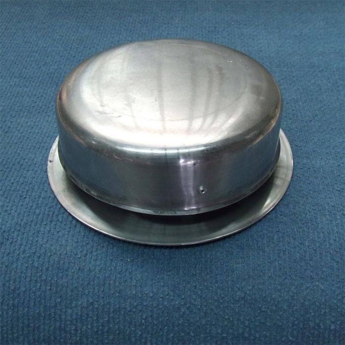 Caravansplus Flue Vent 150mm Spun Aluminium Cowl