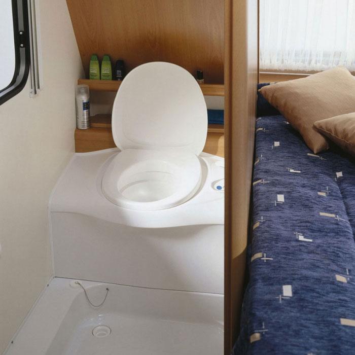 Caravansplus Thetford Cassette Toilet C402 C Flush Tank Right Entry