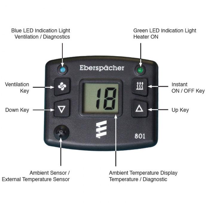 Caravansplus Digital Controller Kit Heater Parts Buy Now