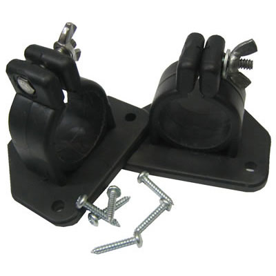 Explorer Side Mounting Brackets - Suit 32mm Mast (Pair)