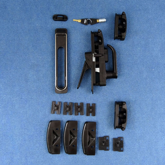 Camec 3-Point Lock Complete Kit -  Suit Right Hinge Door.  One-Key Compatible