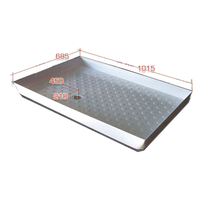 Shower Tray deluxe, Acrylic, 1015mm x 685mm