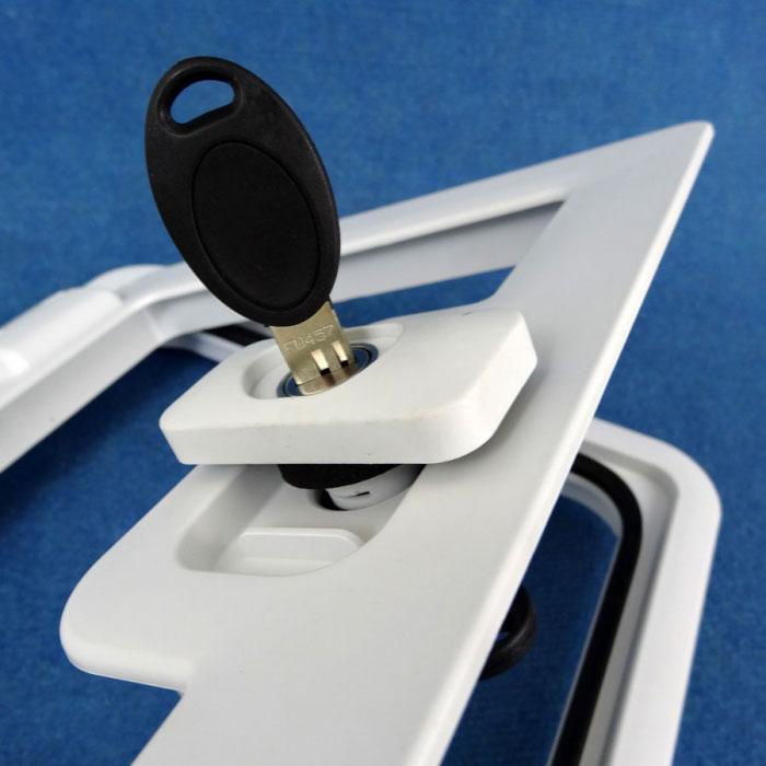 Simple Twist To Unlock & CaravansPlus: 680037: Seitz Caravan Service Door SK4 - Suit Hole 305 ...