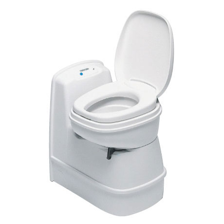 Thetford Cassette Toilet C200 CS - Swivel Seat / RV Flush / Rear Entry