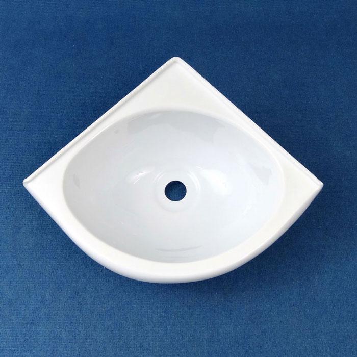 Rv Corner Sink : Basin Corner, Acrylic, 279 x 279mm, WHITE .