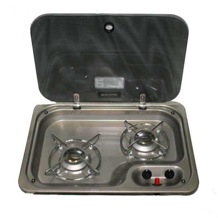 CRAMER 2 Burner Hob with Lid.  460w-335d