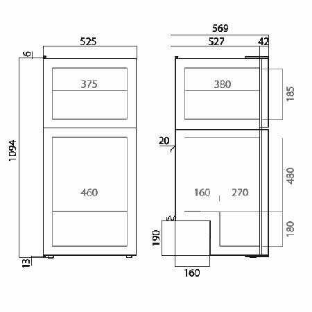Vitrifrigo Dp150i Fridge Amp Freezer 150 Litre 12v