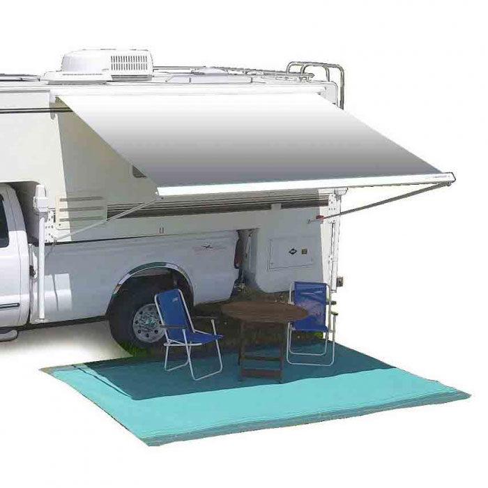 Legs Can Be Vertical To Base Of RV Or As Shown On This Slide