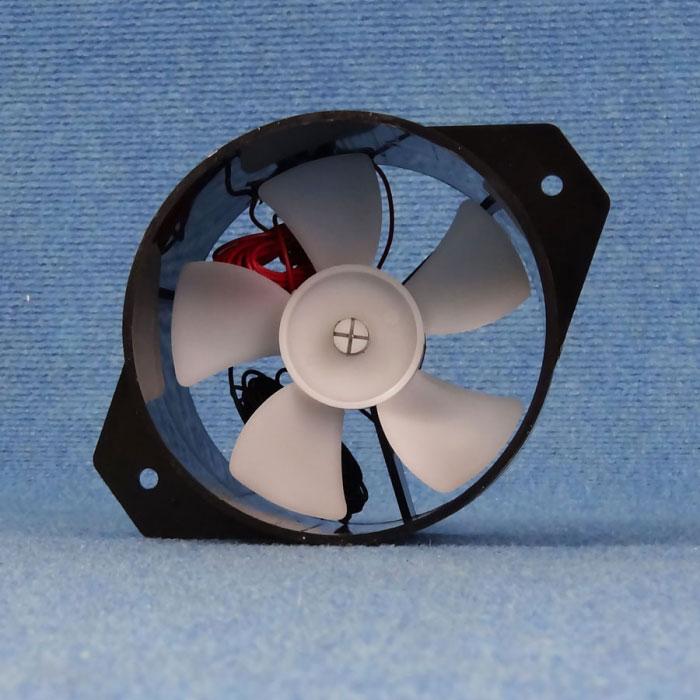 110mm 12v Fan : Caravansplus v automatic fridge fan universal