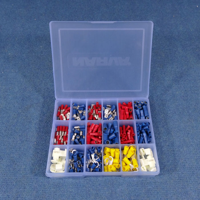 NARVA Handyman Terminal Pack ,56520, 320 Pieces