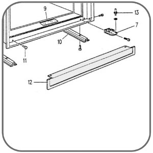 product info on door awning kits